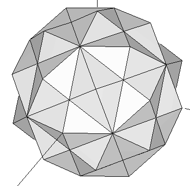 120 polyhedron lateral view