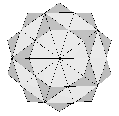 120 polyhedron top view