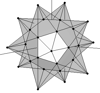 Small Stellated dodecahedron construction