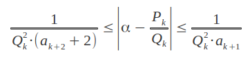 How well an irrational is approximated by the convergents of its continued fraction expansion